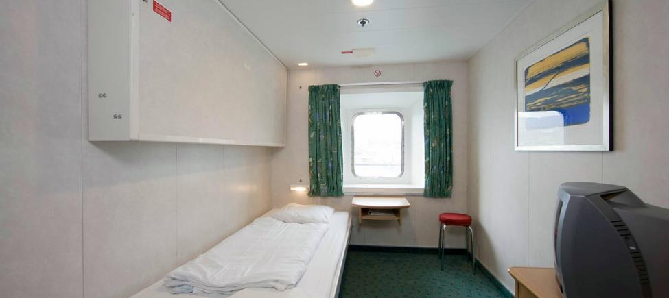 2-berth cabin with view (bunk berth)